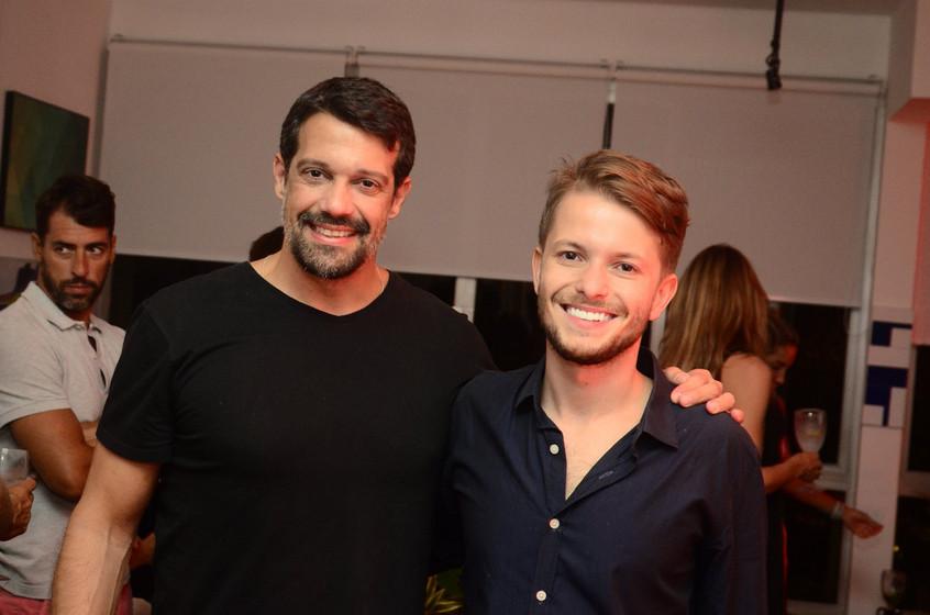 Alexandre Pazzini e Victor Niskier (1)