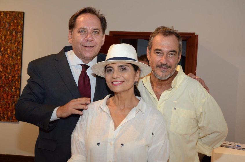 Wladimyr Jung, BB Schmitt e Jorge Barata