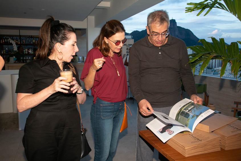 Paola Ribeiro, Patricia Mayer e Sergio Z