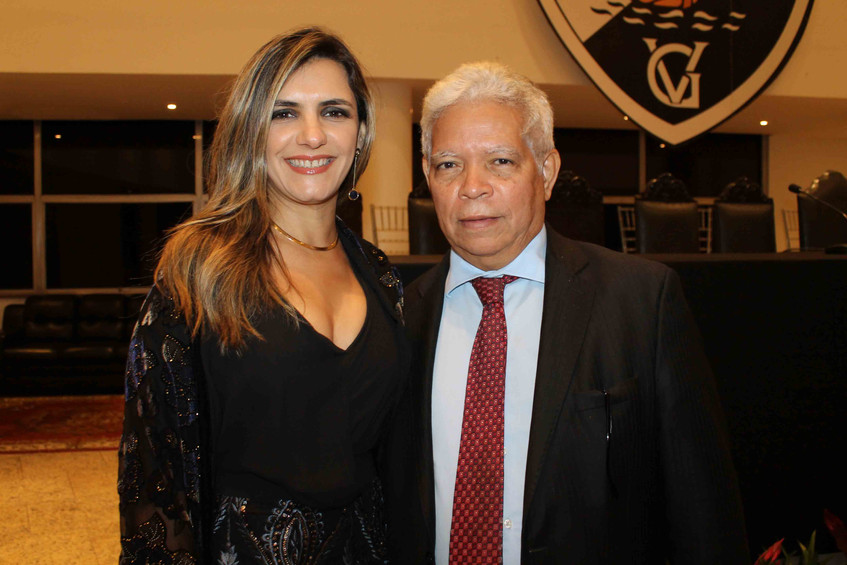 O Casal Desembargador Cairo e Tatiana Da
