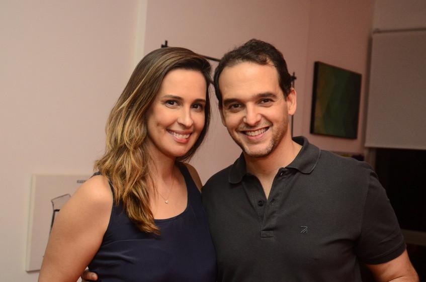 Juliana Medrado e  Mariano Machado