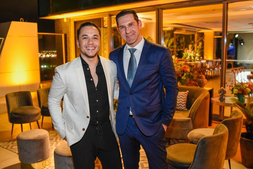 Vinicius Belo e Claudio Tironi