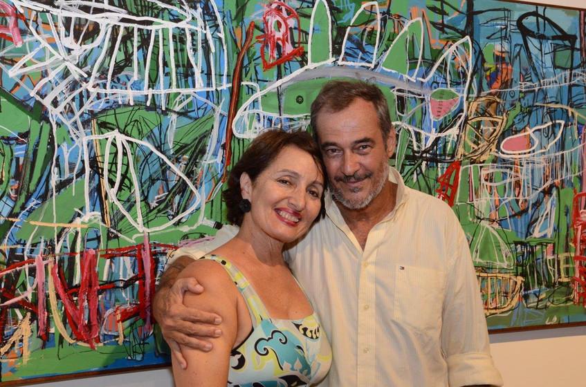 Denise Anne e Jorge Barata