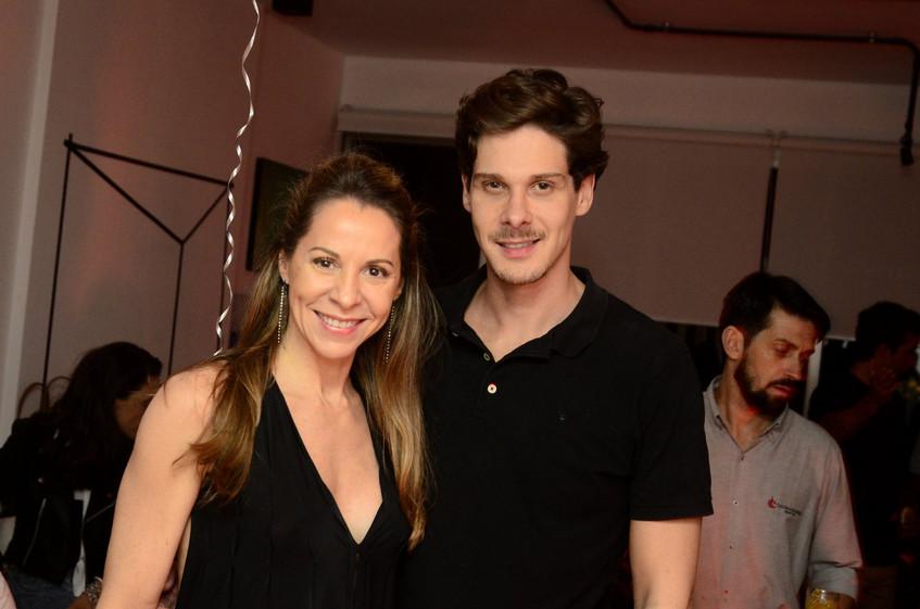 Ana Paula Bento e Phil Gomes