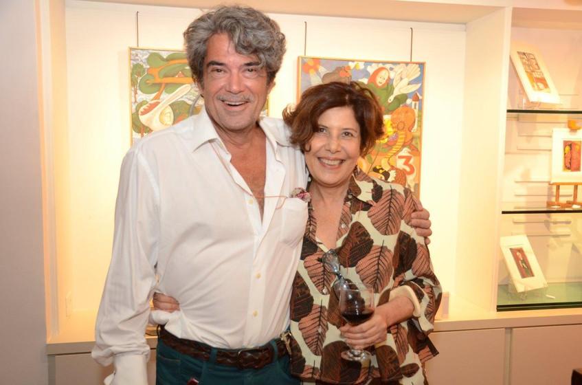 Julio Bandeira e Claudia Fares