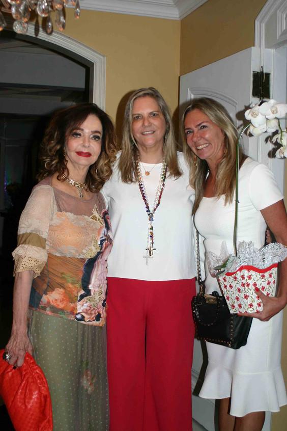 Vera Loyola, Maninha Barbosa e Marcia Ve