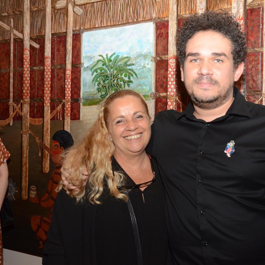 Ana Helena Curti e Raphael Fonseca