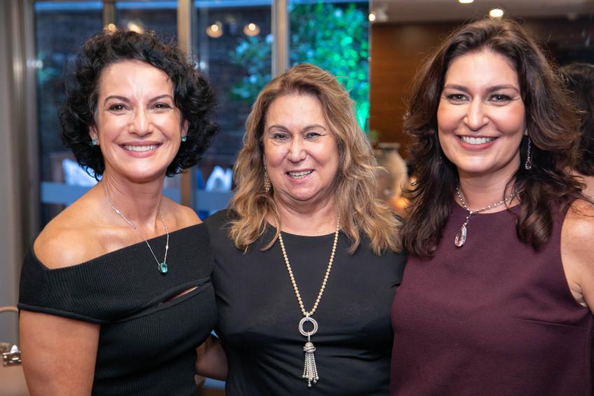 Claudia Terra, Teresa Macedo e Roberta L