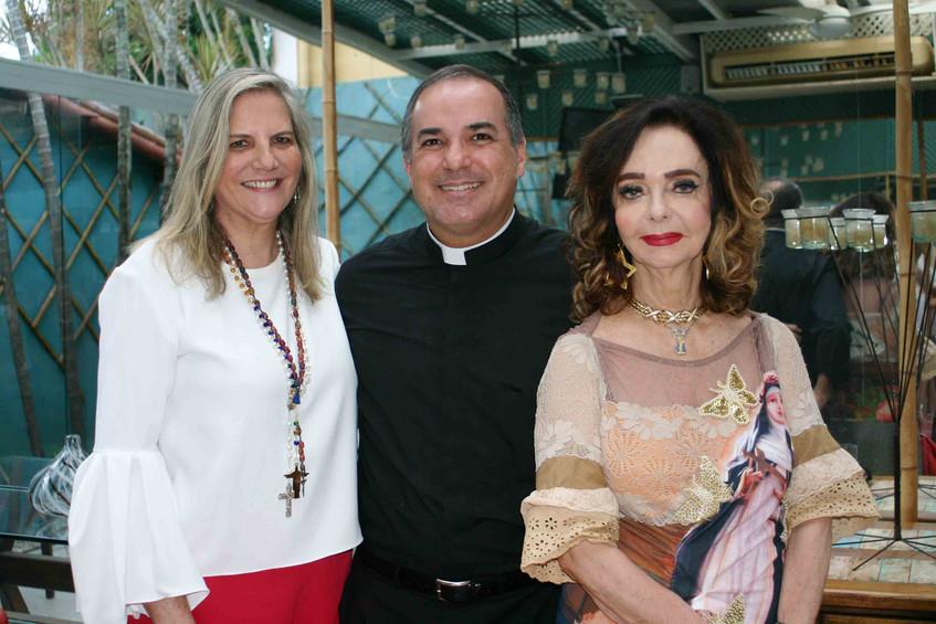 Maninha Barbosa, Padre Marcelo e Vera Lo
