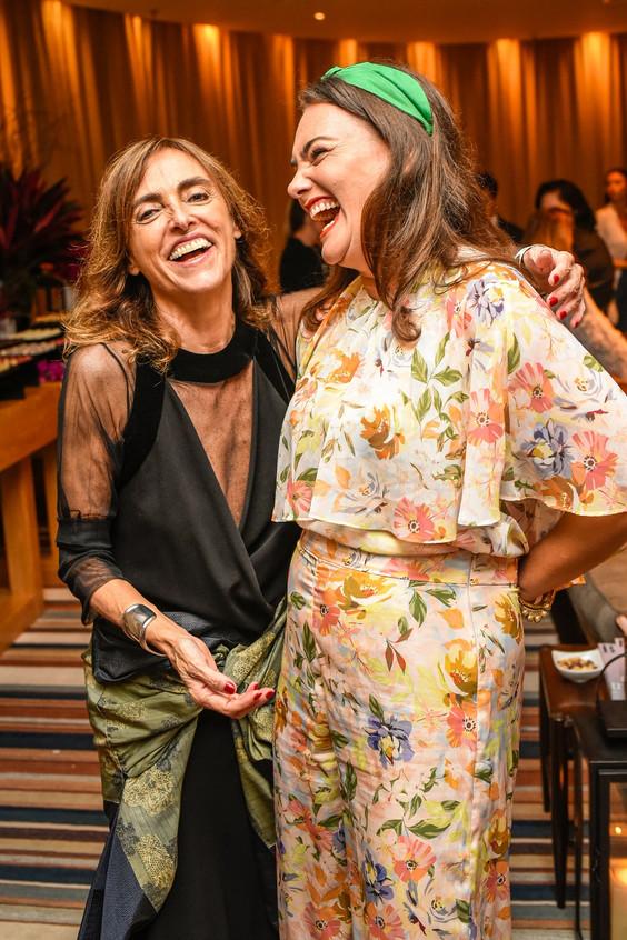 Patricia Carta e Maria Antonia Bocayuva.