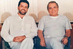 Dr. Enzo e Dr. Ivo Pitanguy
