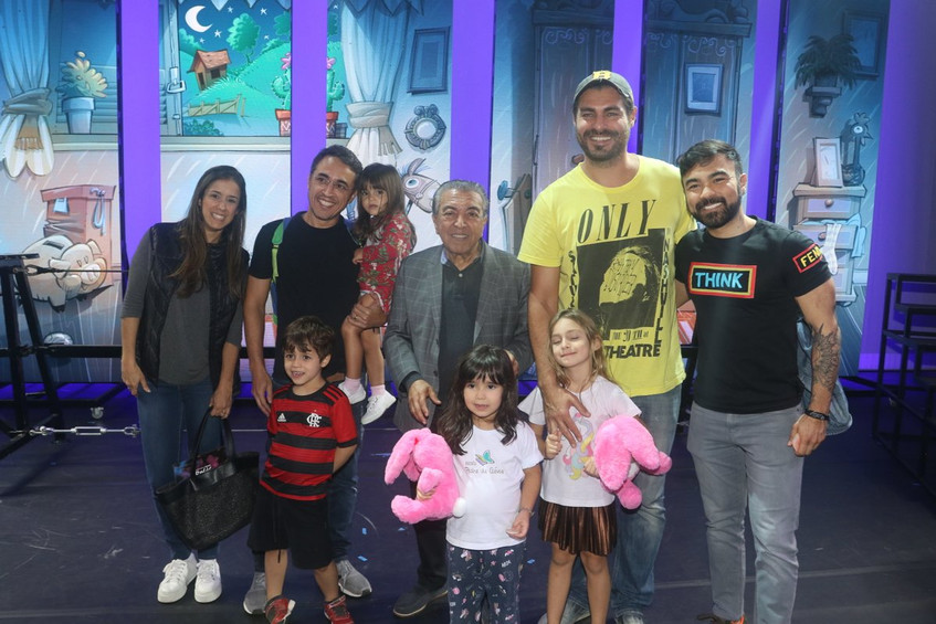 Mauricio Sousa, Thiago Lacerda e Familia