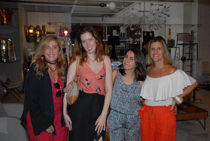 Patricia Hall, Livia Araujo, Cintia Milo