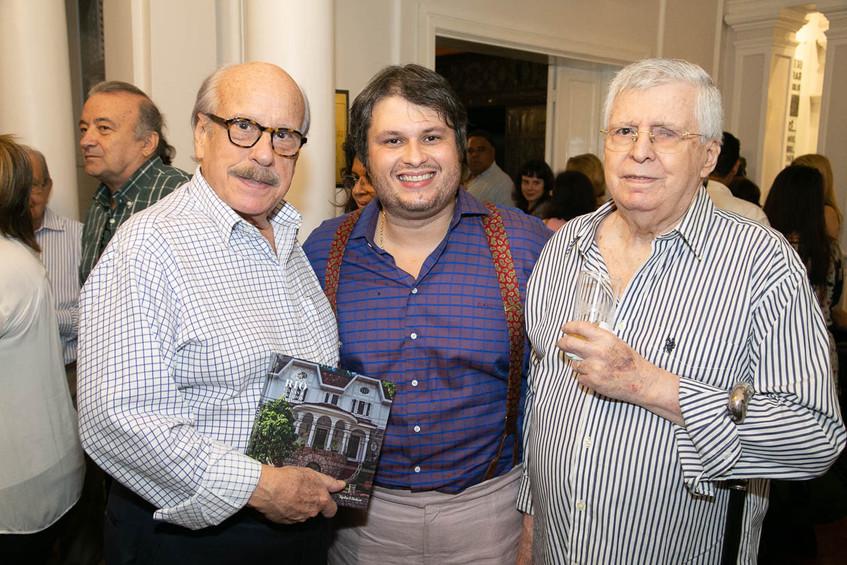 Claudio Aboim, Claudio Castro, Carlos Sa