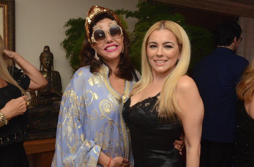 Narcisa Tamborindeguy e Ariadne Coelho
