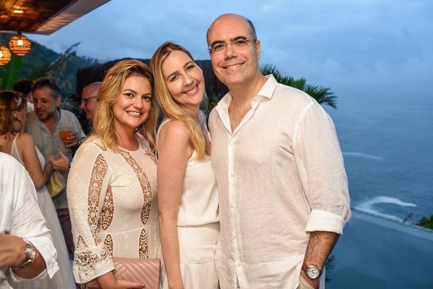 Tatiana Datz, Sophia Galvao e Marcelo