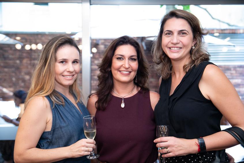 Bruna Caloi, Roberta Limmer e Camila Nag