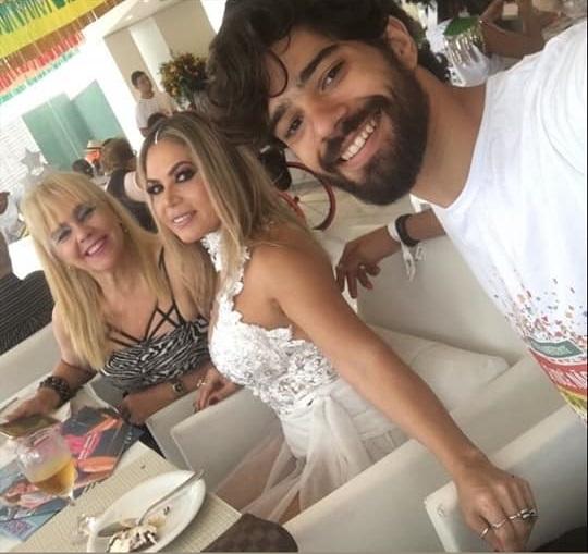 Marisa, Ana Gomes e Luis