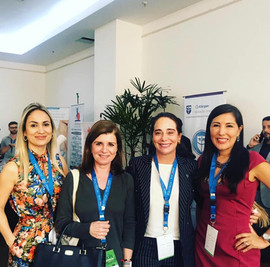 1. Pilar Ardila 2. Dra. Fabíola Costa  3. Dra. Barbara Machado  4. Karen Vasquez