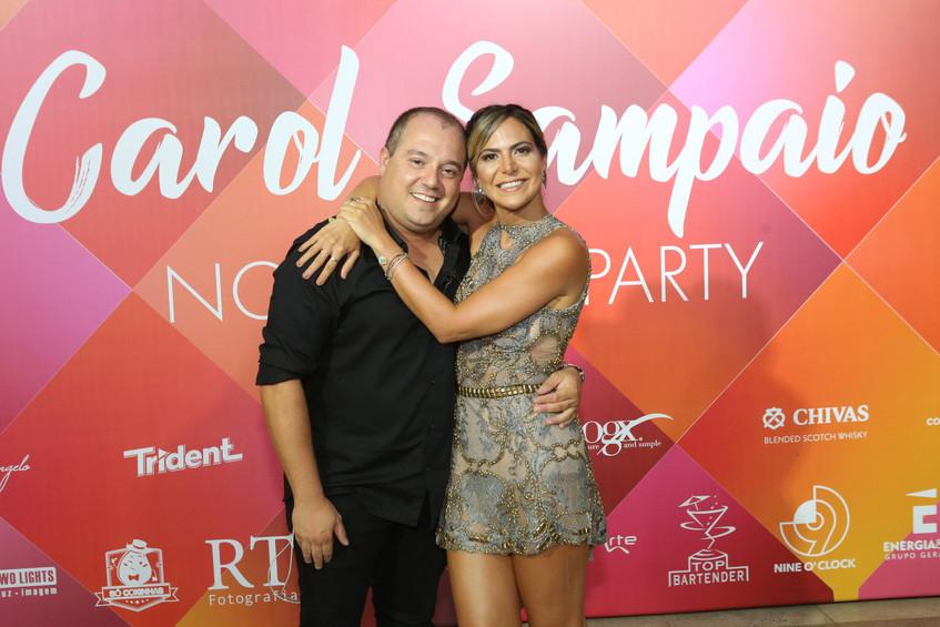 Michel Diamant e Carol Sampaio 0847