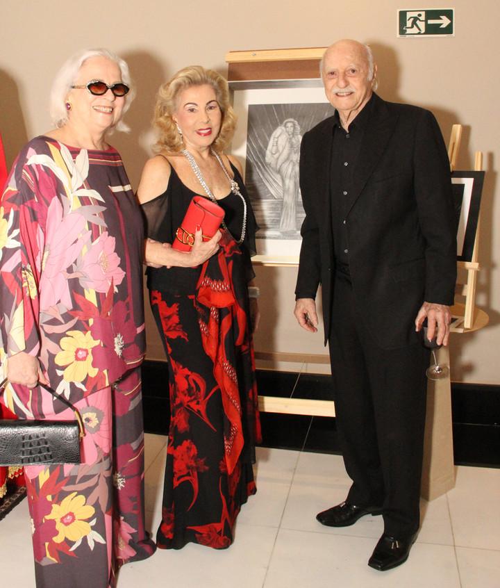 Hildegard Angel, Marisa e Jair Coser 2