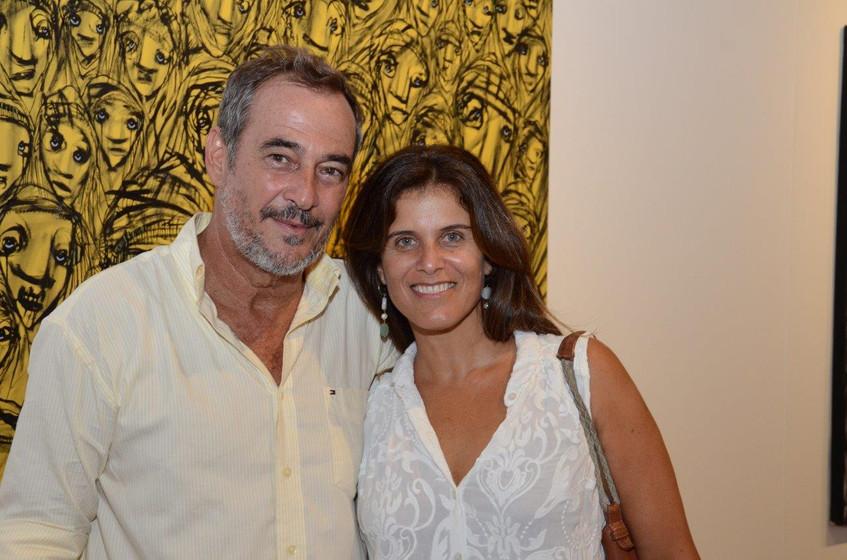 Jorge Barata e Patricia Pacote