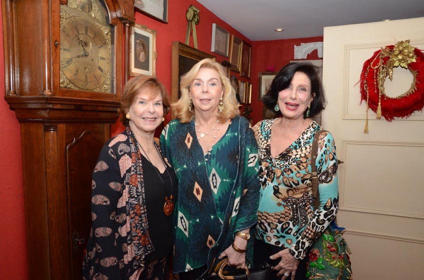 Marly Garcia, Patricia Medeiros e Carmen