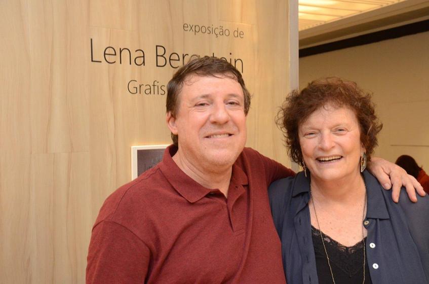 Marcelo Vals e Lena Bergstein