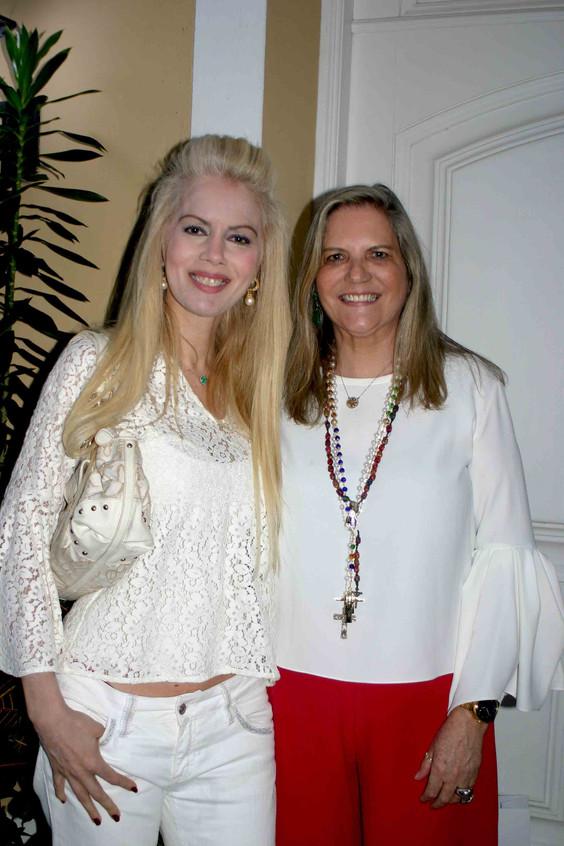 Giovanna Priolli e Maninha Barbosa