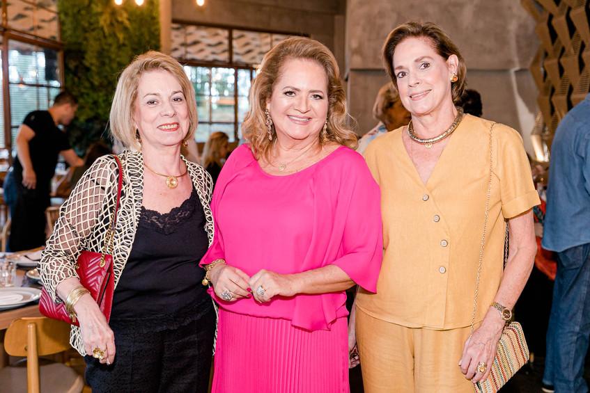 Mary Galvao, Renata Fraga e Silvia Fraga
