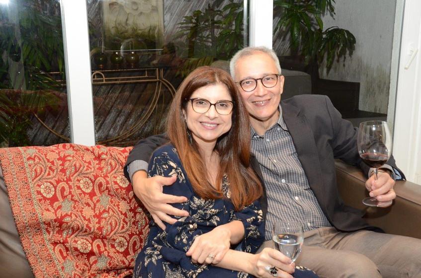 Denise Cury e Silvio Vicente