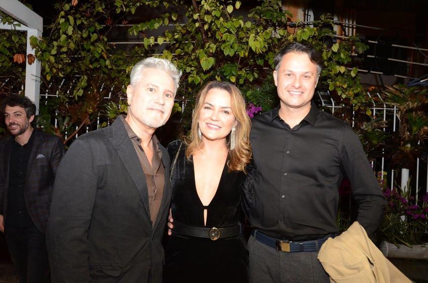 Marcelo Molinaro, Aline Vieira e Flavio