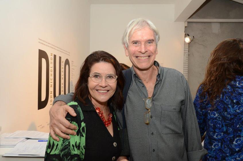 Jandira Teske e Alberto Kaplan