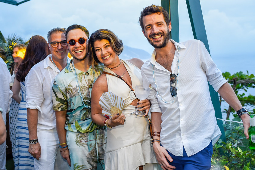 Wander Gomes, Vinicius Belo, Livia Torre