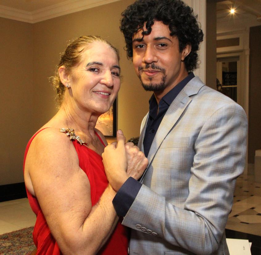 Simone Rodriguez e Abyner Gomez