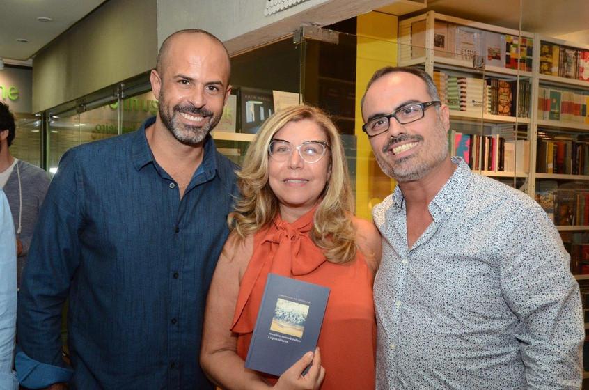 Ricardo Portilho, Raquel Senna e Christo