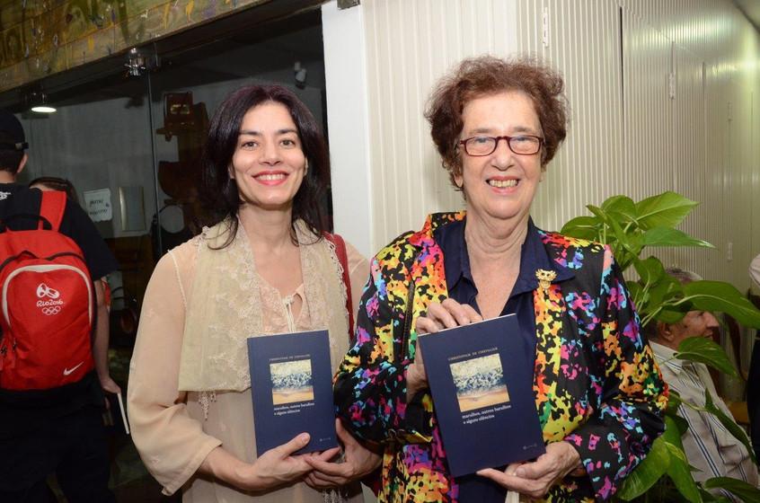 Suzana Fuentes e Eunice Gutman