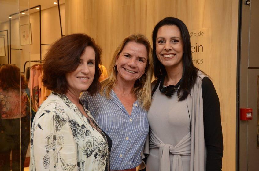 Chris Carvalho, Diana Reis e Lise Leal