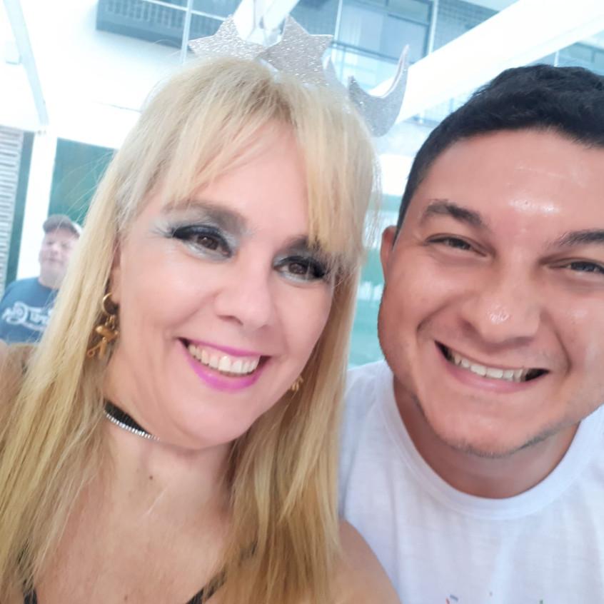 Marisa Araujo e Heber Lins