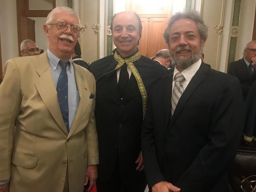 José Octacílio Saboya Ribeiro, Mauro de LIma Câmara e Marcos Carqueja