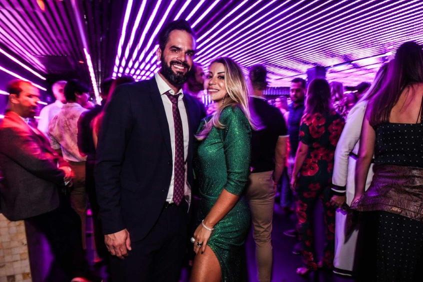 Francisco Freitas e Bruna Olivo