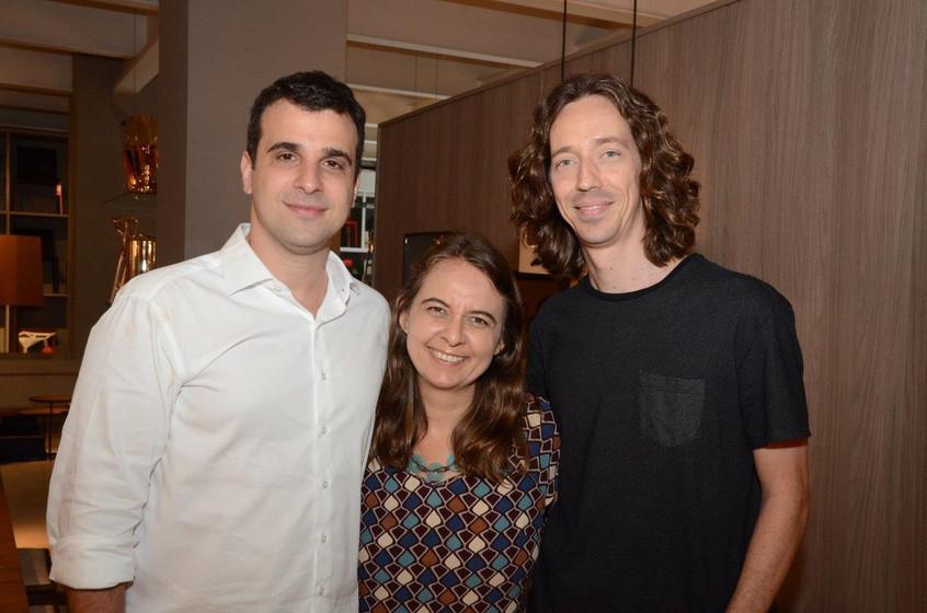 Paulo Crosman, Feranada Bessoni e Raul M
