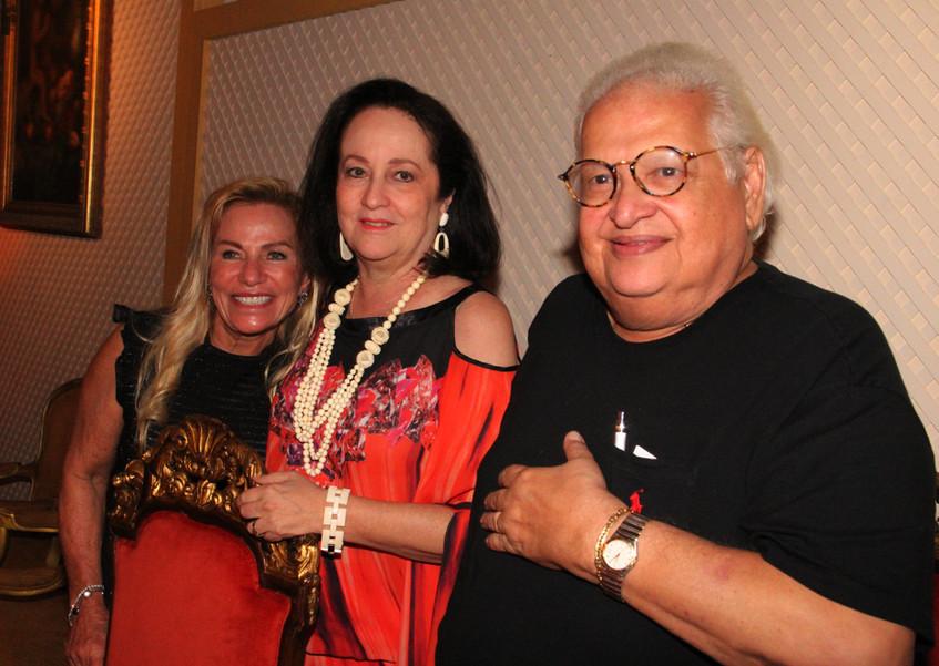 Silvia Miranda, Beth e Carlos Serpa