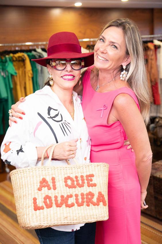 Narcisa Tamborindeguy e Marcia Verissimo
