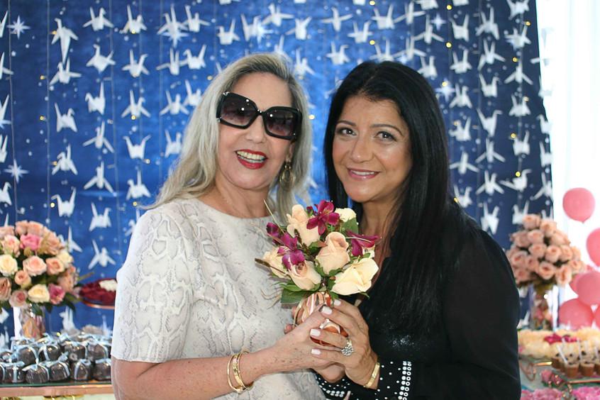 Marlene Matos e Raquel Franca