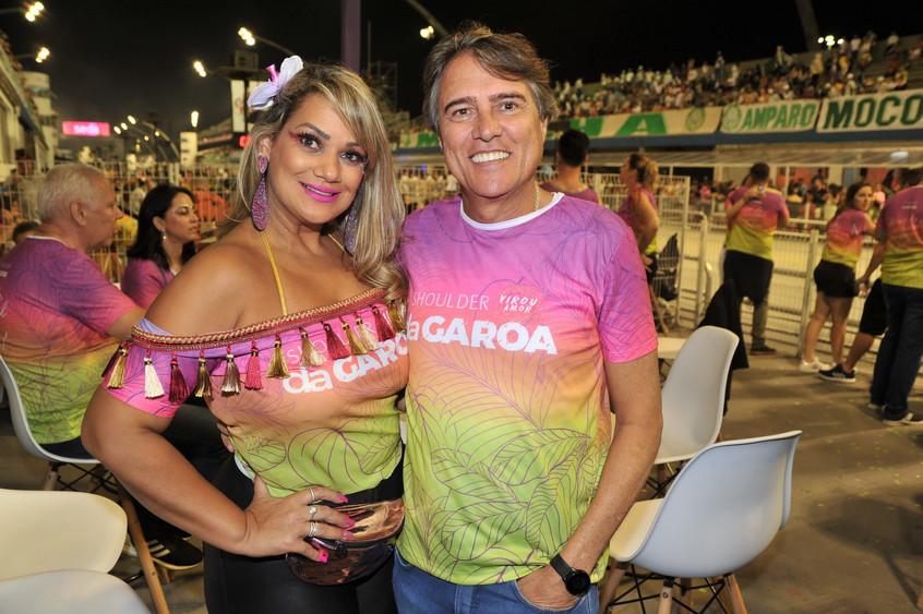 Fabricia Roweder e Julio Cesar Antonio