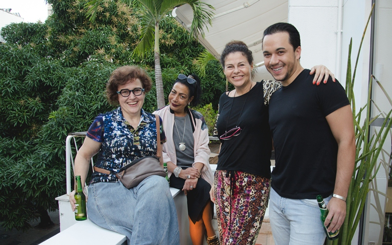 Gisele, Gisah Moreno, Yara Figueiredo e