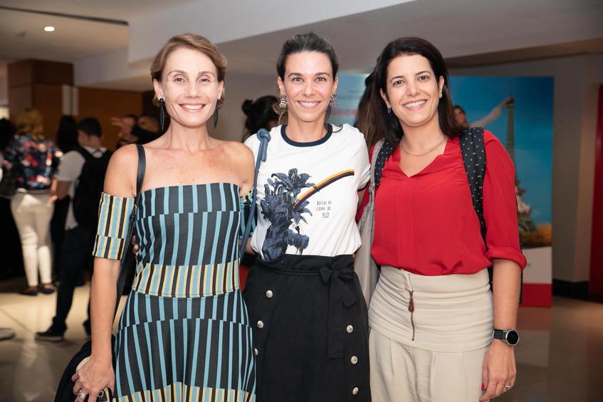 Ane Marques, Juliana piquet e fabiana za