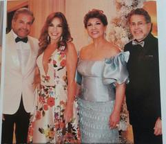 Enzo Rivera,Adriana de Rivera, Patricia Montoya e Jorge Rivera