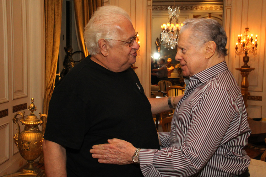 Carlos Serpa e Arnaldo Niskier